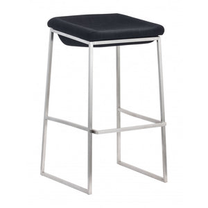 Lids Barstool Dark Gray (Set of 2) - Dark Gray