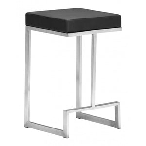 Darwen Counter Stool Black (Set of 2) - Black