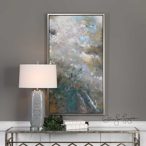 Oversized Multicolored Abstract Artwork