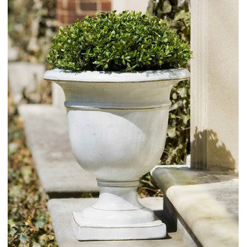 Botanic Indoor/Outdoor Urn Planter - Antique White