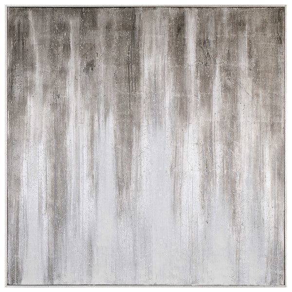 Extra Large Multi Grey Abstract Artwork