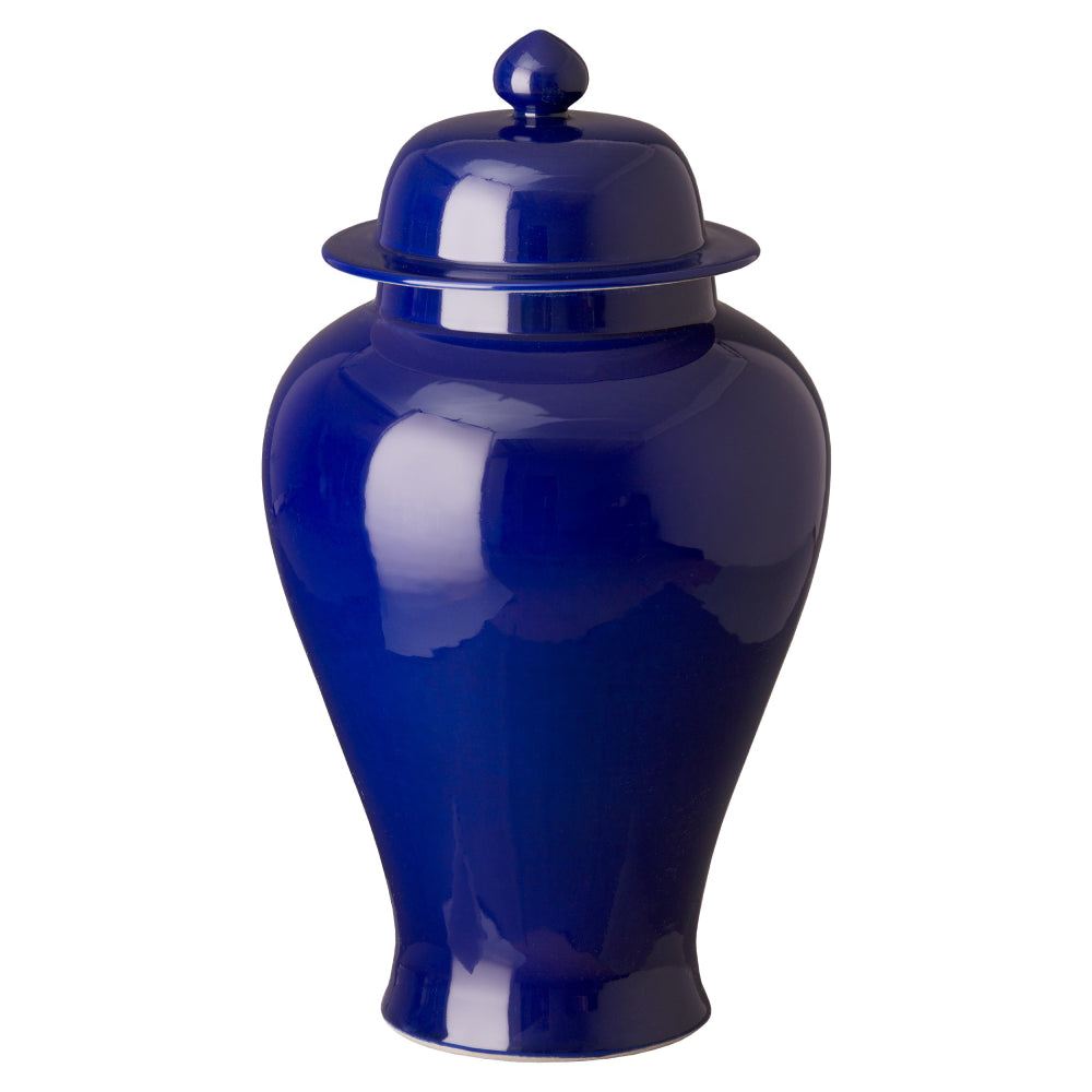 Porcelain Temple Jar – Emperor Blue