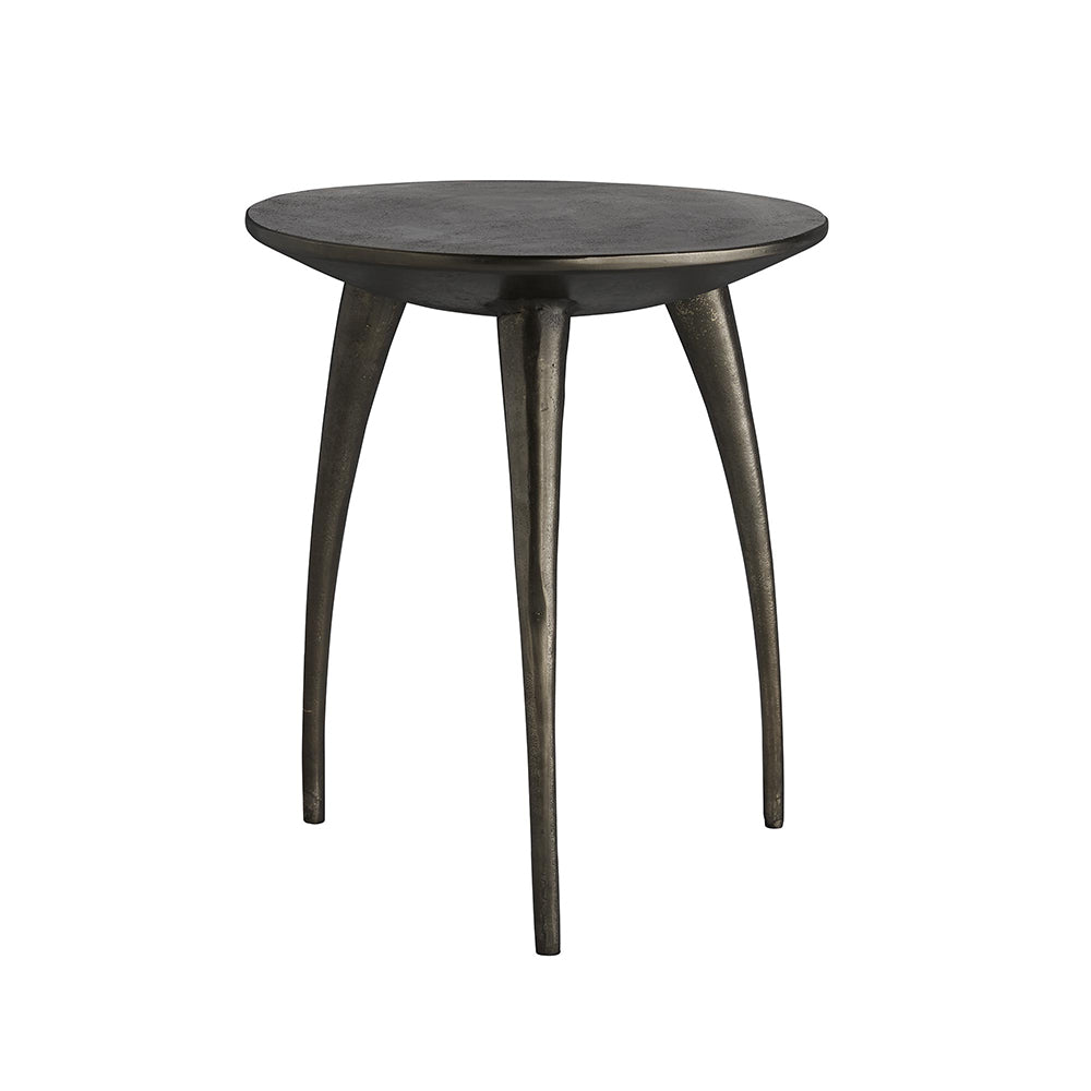 Arteriors Rotterdam Cast Aluminum Tripod Accent Table