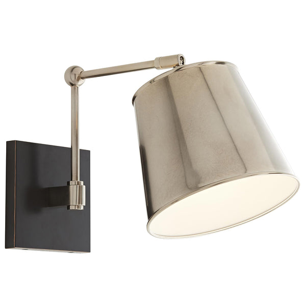 Arteriors Watson Articulated Arm Sconce – Vintage Silver