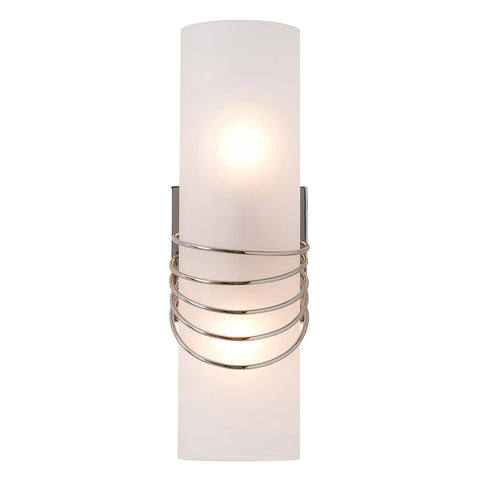 Arteriors Hampton Banded Sconce – Polished Nickel