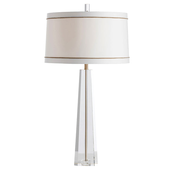 Arteriors Grace Faceted Crystal Body Table Lamp