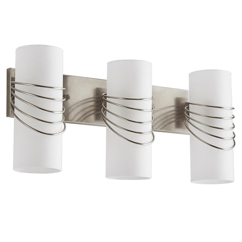Arteriors Hampton 3-Light Wall Vanity – Vintage Silver
