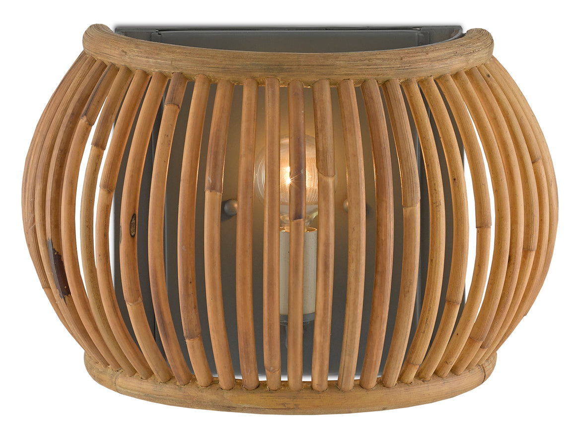 Currey and Company Africa Wall Sconce
