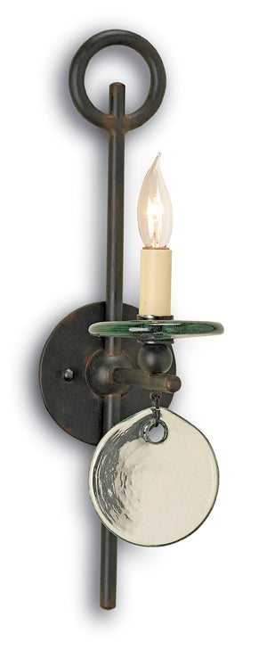 Currey and Company Sethos Black Wall Sconce
