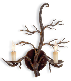 Currey and Company Treetop Wall Sconce