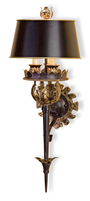 Currey and Company Duke Wall Sconce