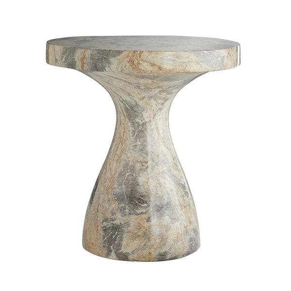 Arteriors Serafina Faux Marble Accent Table – Large