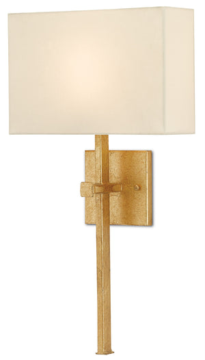 Currey and Company Ashdown Gold Wall Sconce