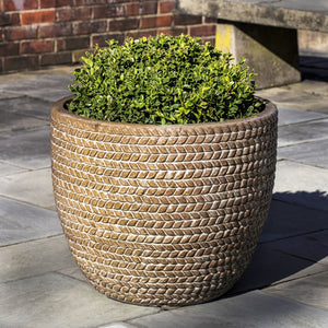 Sisal Weave Planter in Café Au Lait – Set of 3
