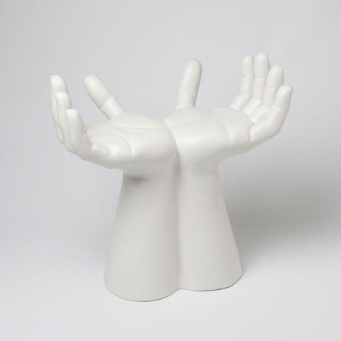 White Hands Stool