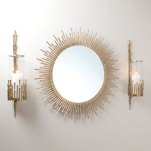 Spike Wall Sconce – Antique Brass