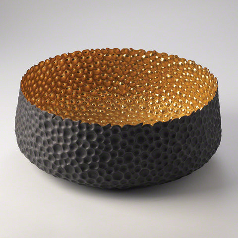 Hammered Brass Bowl – Bronze Finish
