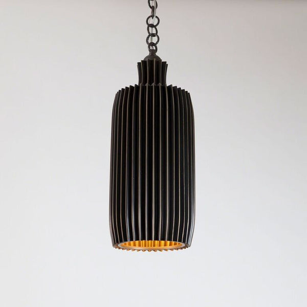 Crimp Bar Pendant – Bronze