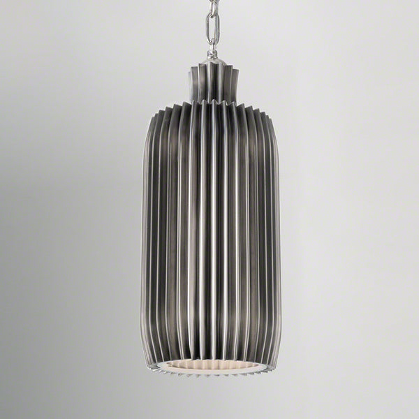 Crimp Bar Pendant – Antique Nickel