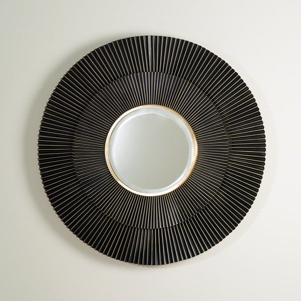 Round Crimp Mirror – Bronze