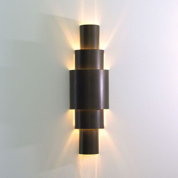 Tiered Sconce – Bronze