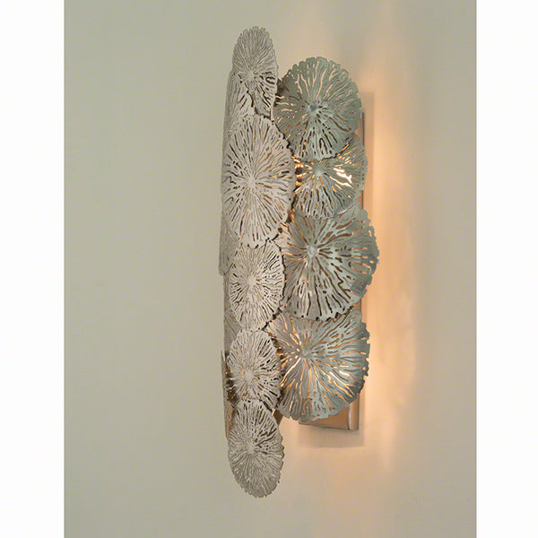 Lily Pad Wall Sconce – Antique Nickel