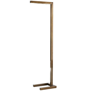 Arteriors Salford Ultra-Modern Angular Steel Floor Lamp