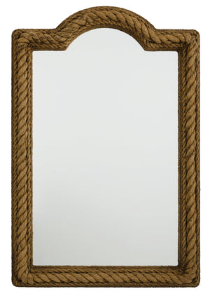 Nautical Rectangular Rope Mirror