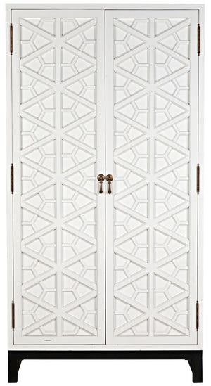 Small Maharadscha Hutch  - Solid White