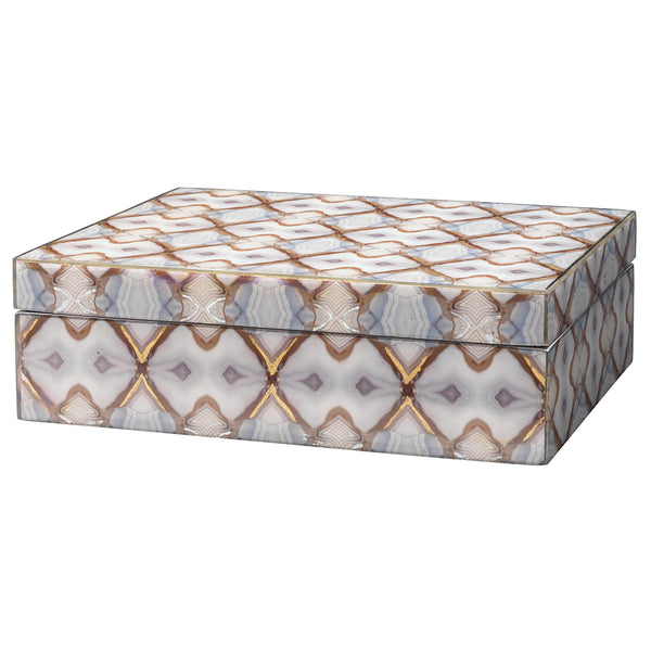 Kaleidoscope Patterned Decorative Box