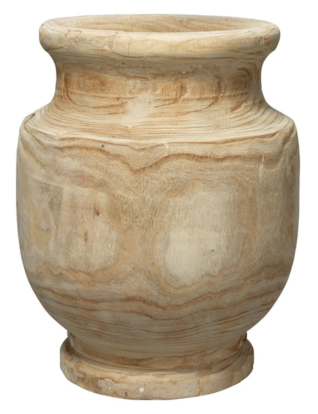 Laguna Wooden Vase in Natural Wood