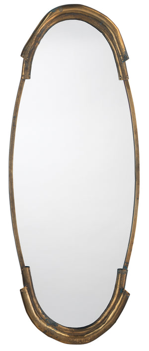 Margaux Mirror in Antique Brass