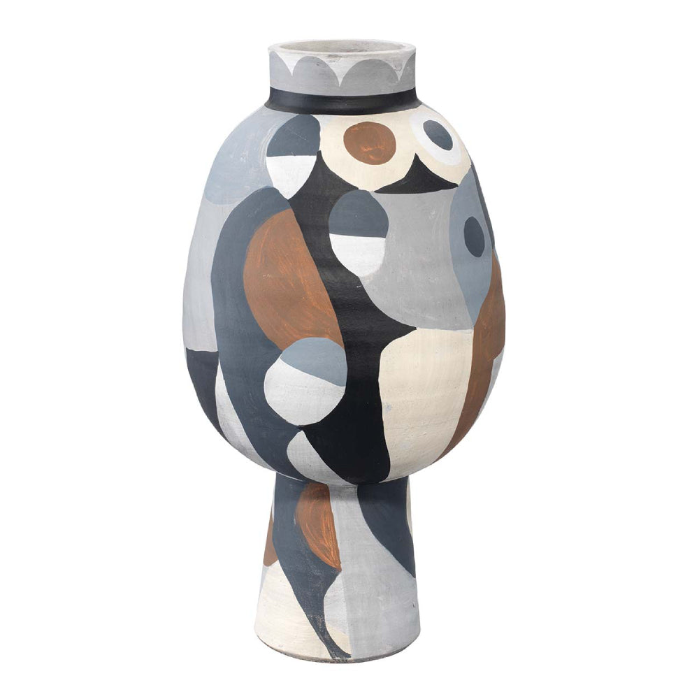 Hand Painted Contemporary Vase – Medium