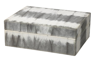 Tie Dye Box in Grey