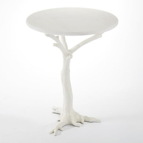 Branch Side Table – White