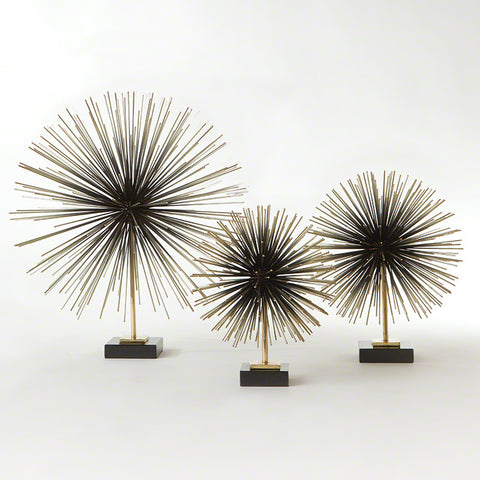 Boom Tabletop Sculpture – Brass