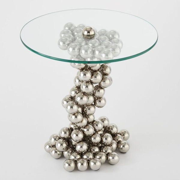 Sphere Table – Nickel