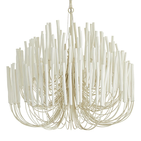 Arteriors Tilda Multi-Tier Wood Dowels 6-Light Chandelier