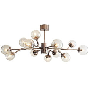 Arteriors Dallas 12-Globe Chandelier – Brown Nickel