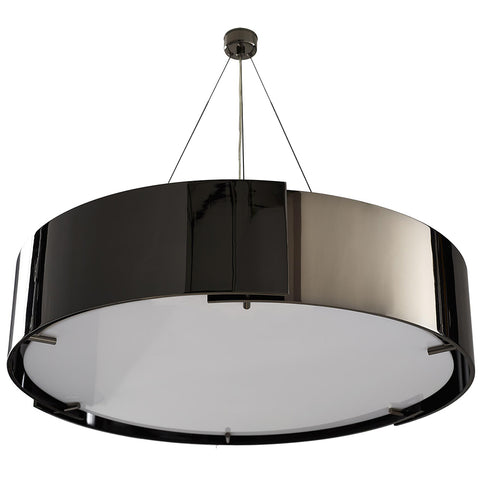 Arteriors Dante Overlapping Bands Chandelier – Black Nickel
