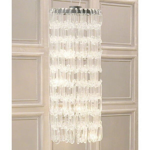 Glass Loop Chandelier