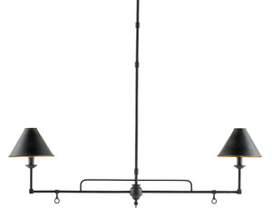 Currey and Company Prosperity Rectangular Chandelier