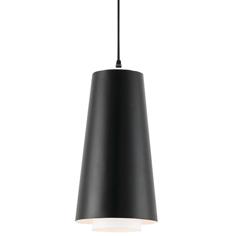 Currey and Company Wrought Iron Conical Pendant Light