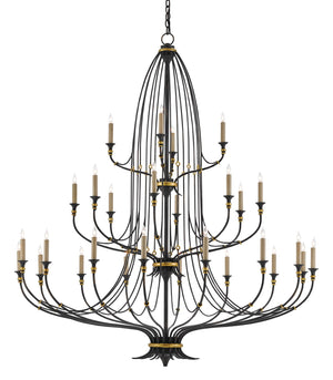 Currey and Company Folgate Grande Chandelier