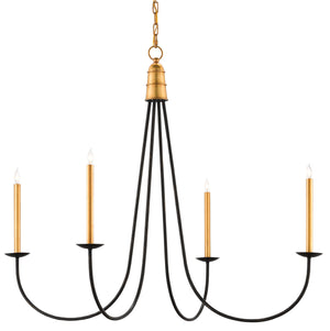 Currey and Company Ogden Chandelier