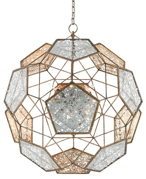 Currey and Company Julius Orb Chandelier