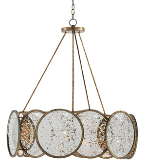 Currey and Company Oliveri Chandelier