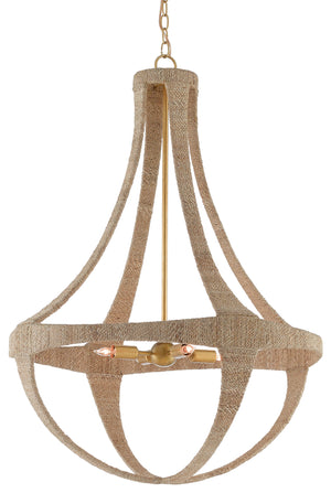 Currey and Company Ibiza Chandelier