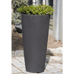 Tall Faux Cement Planter