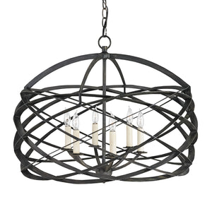 Currey and Company Horatio Chandelier